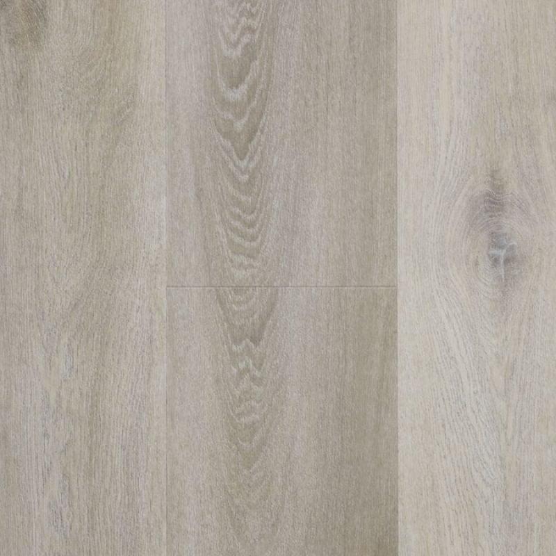 Een grijze pvc vloer met een bruintint
