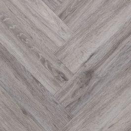 Een rustgevende pvc vloer met een visgraat patroon