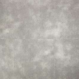 Een licht grijze pvc tegel