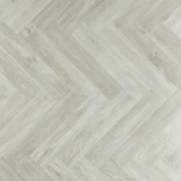 Een mooie witte pvc vloer met visgraat