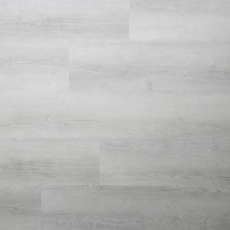 Een echte pvc vloer in het grijs